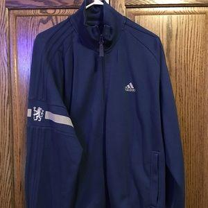 Men's Adidas Chelsea Soccer Club sweat jacket